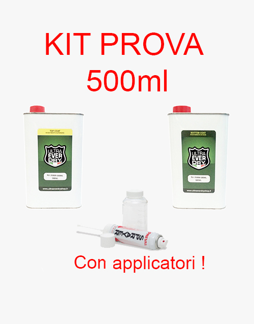 Ultra Ever Dry kit prova